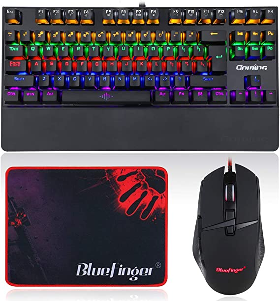 RGB Mechanical Gaming Keyboard and Mouse Combo