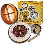 Waltons Pack 12'' Skellig Bodhran - Gift Set