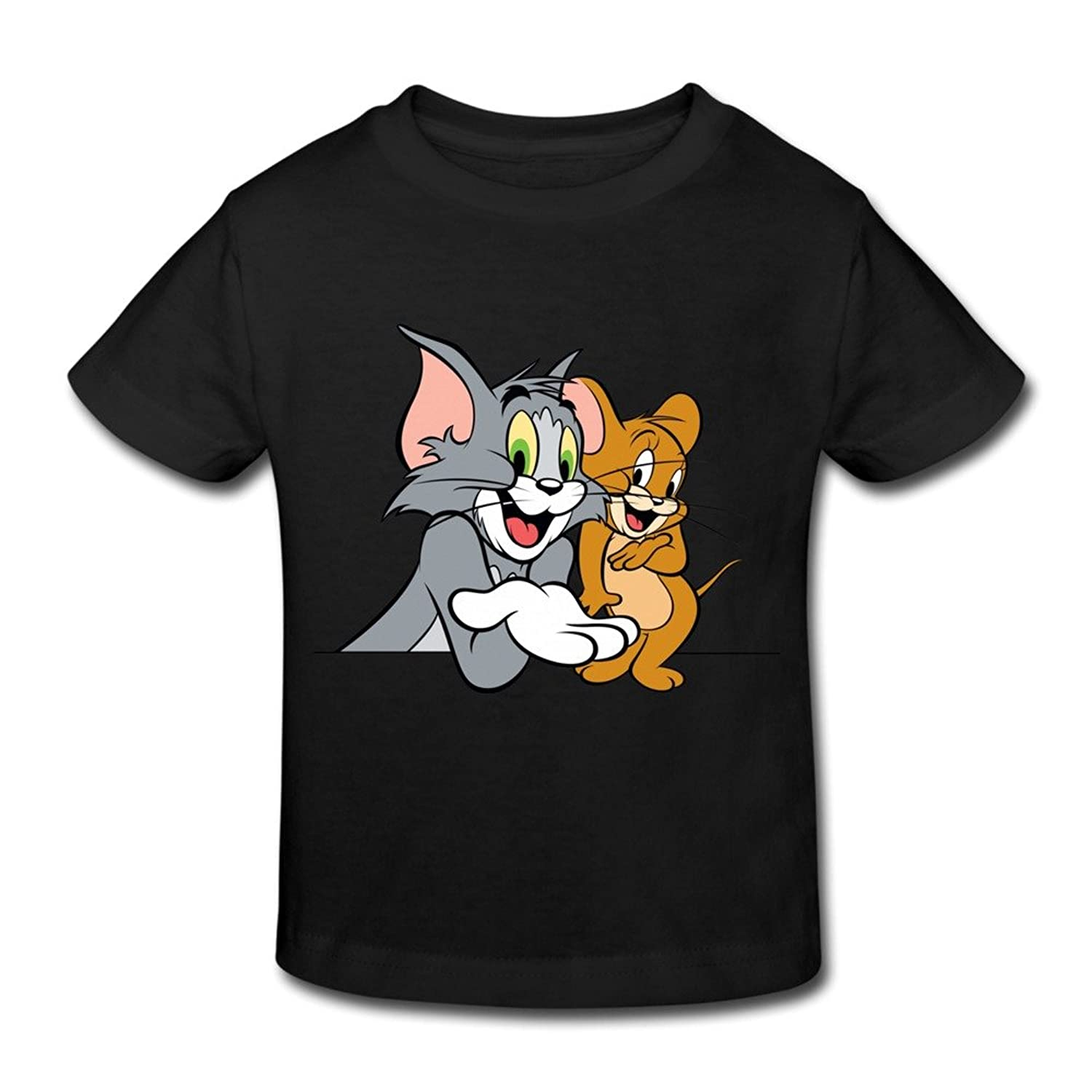Kids Toddler Tom Jerry Show Little Boys Girls T-Shirt