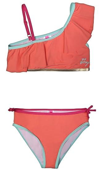 95d8eeae0b Amazon.com  Betsey Johnson Girls Bikini 2-Piece Swimsuit (Little ...