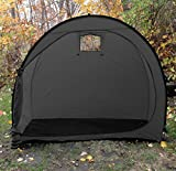 Wealers Outdoor Portable Garage Shed Bicycle Storage Tent, Space Saver, Garden Storage and Pool Storage (Black)