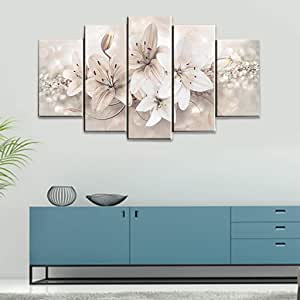 Canvas Print Painting,Decoration Paintings,Modern Frameless Home Room Art Wall 5PCS (Multicolor-C)