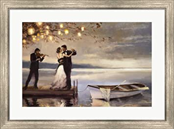 Amazoncom Twilight Romance By Steve Henderson Framed Art Print