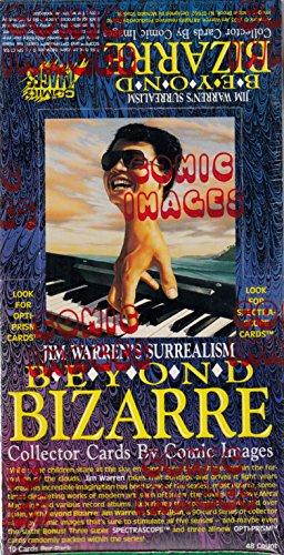 JIM WARREN BEYOND BIZARRE 1993 COMIC IMAGES SEALED TRADING CARD BOX OF 48 PACKS (Comic Images Trading Card Box)