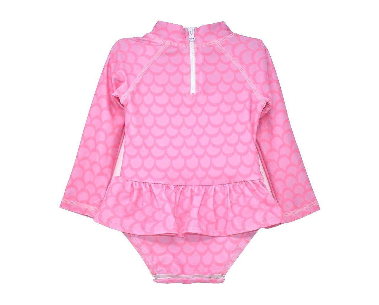 Alissa Infant Rash Guard Swimsuit Flap Happy Girls Baby UPF 50