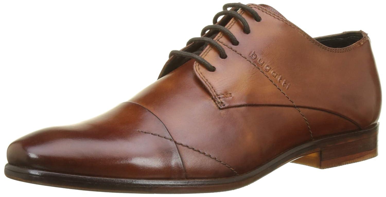 TALLA 43 EU. Bugatti 311294041100, Zapatos de Cordones Derby para Hombre
