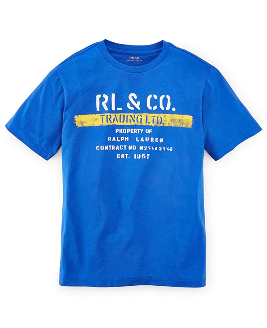 Graphic T-Shirt Size XL Ralph Lauren Boys RL /& Co