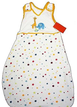 Baby Baby Schlafsack 100% Baumwolle Gr.-90 Babyschlafsack Unisex Bunt Bettausstattung