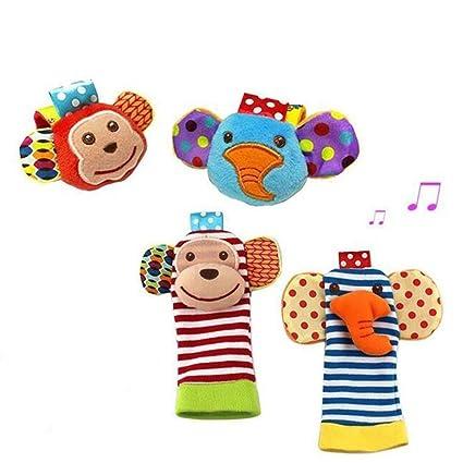 Calcetines de bebé para bebés Calcetines de muñecas Juguetes para muñecos, D&&R Par