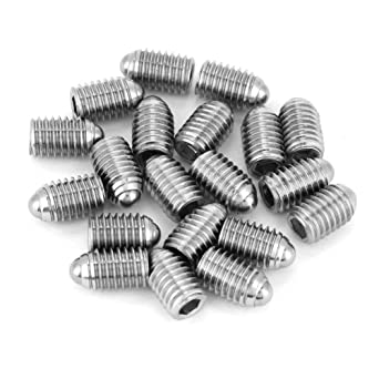Amazon.com: 20 tornillos M8 de acero inoxidable con rosca ...