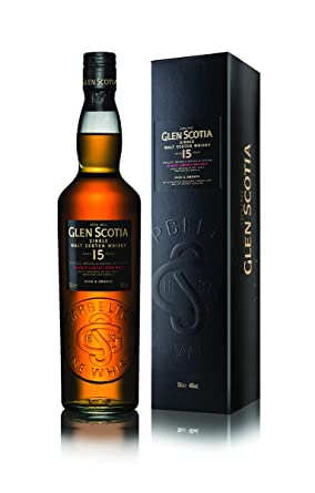 61a3fcc64c33 Glen Scotia 15 Year Old Single Malt Scotch Whisky, 70 cl: Amazon.co.uk:  Grocery