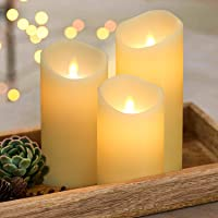 Silverstro LED Candle 3-Piece Set