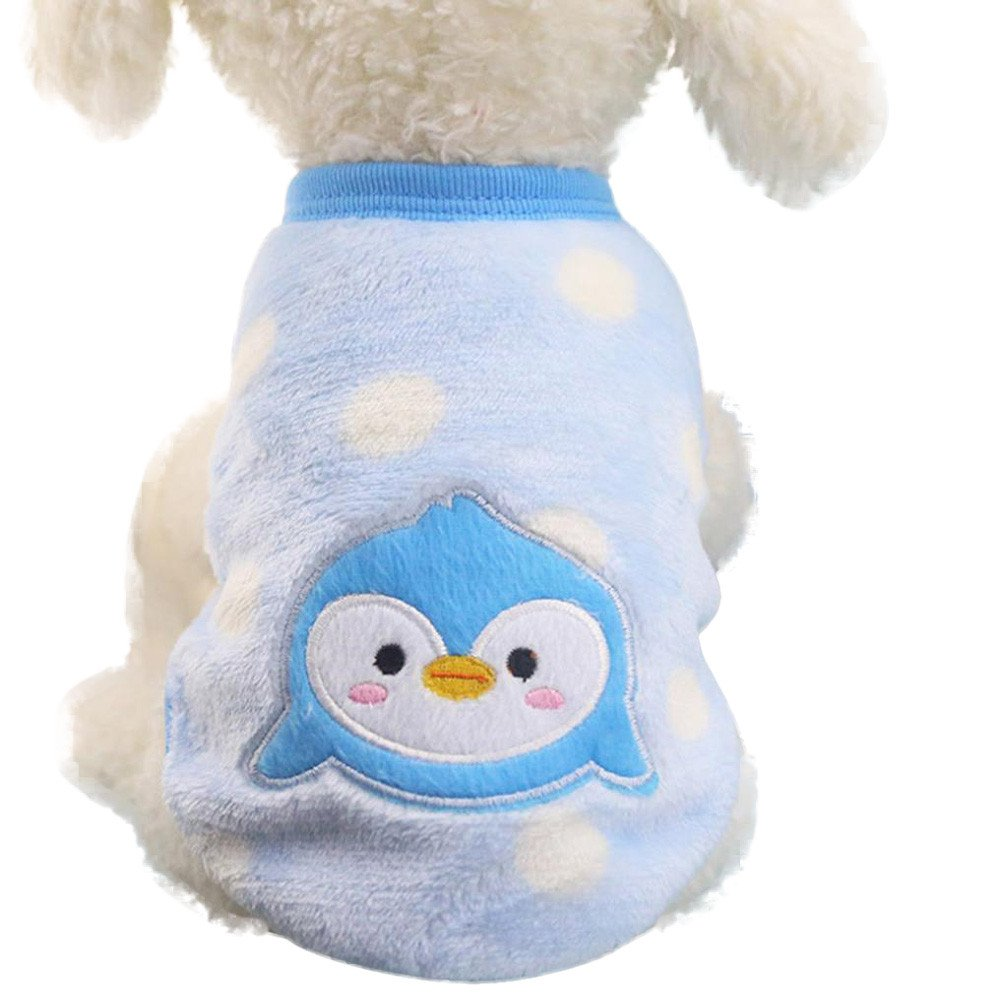 Gyoume Cute Dog Cat Puppy Sweater Coats Small Puppy Shirt Soft Pet Clothing Pullover Tops
