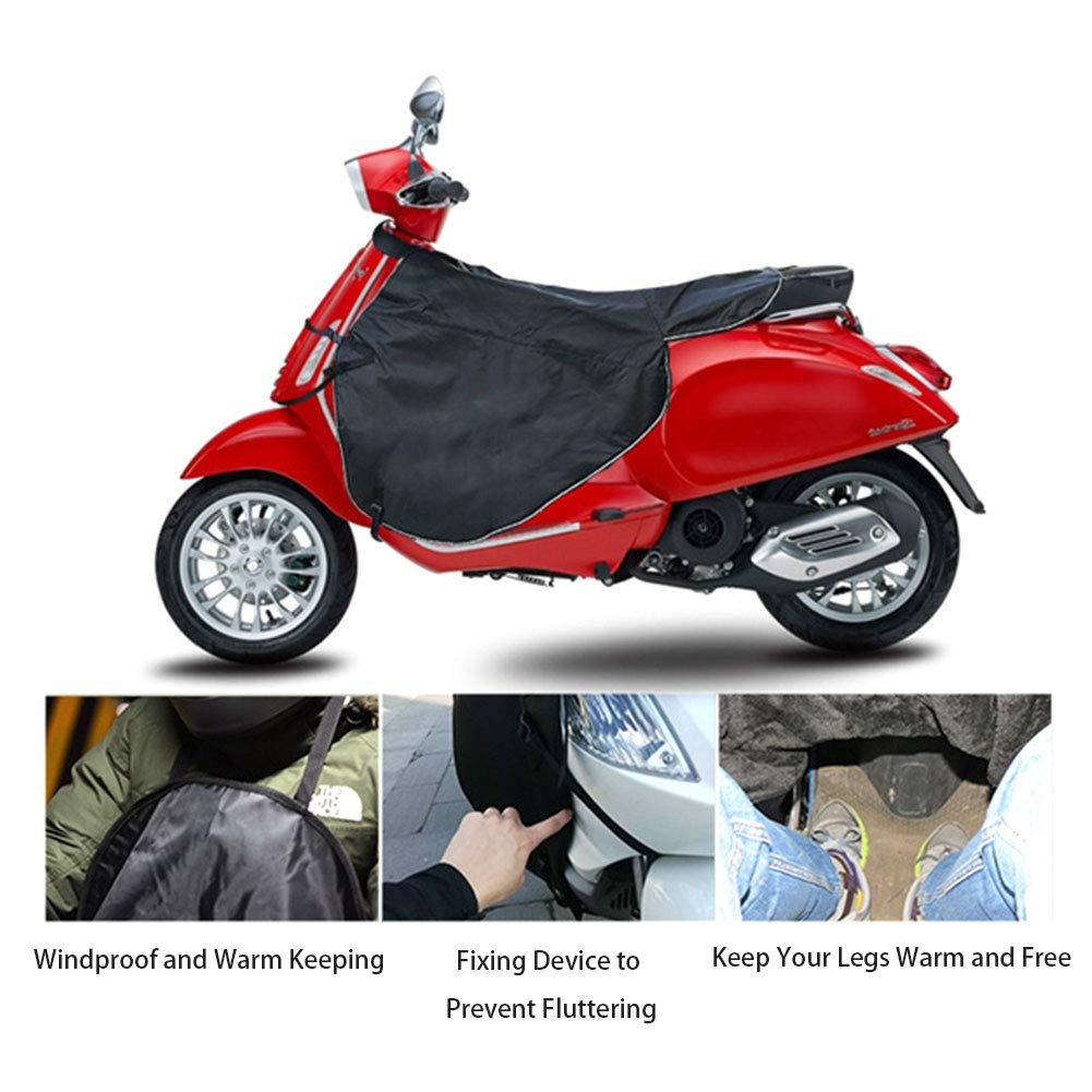 Scooters Leg Cover Motorcycle Warm Gloves Rain Wind Cold Moisture Protector Knee Windproof Winter Quilt For All Vespa GTS GTV LX