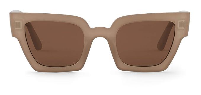 Mr. Boho | Frelard | Taupe - Gafas de sol para hombre y mujer, 45