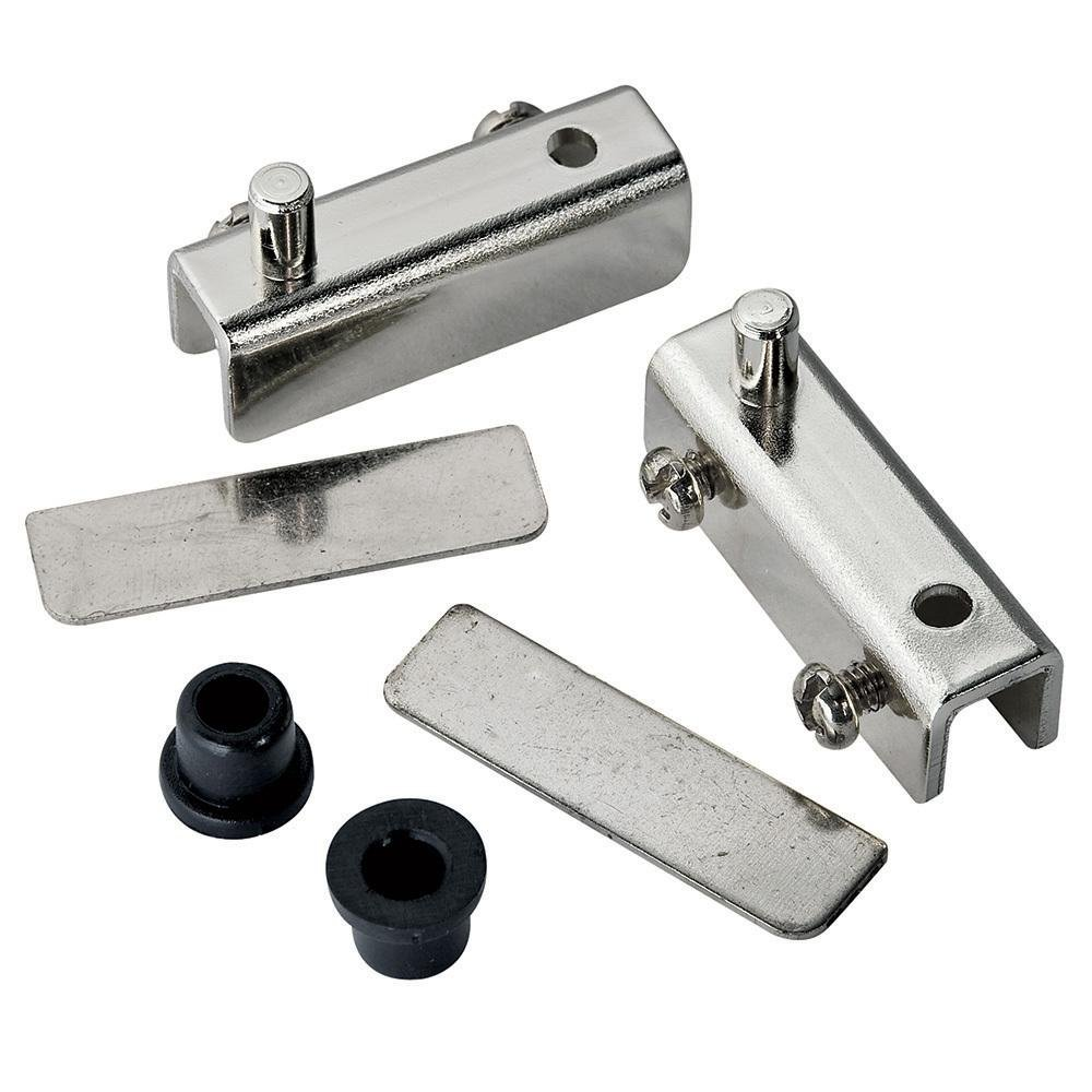 Glass Door Pivot Hinge for Free Swinging Glass Doors Polished Chrome ...