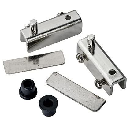Glass Door Pivot Hinge For Free Swinging Glass Doors Polished Chrome