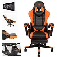 AUSELECT Gaming Chair Ergonomic Office Chair Racing Style High-Back PU Leather PC Computer Gaming Chair Adjustable…