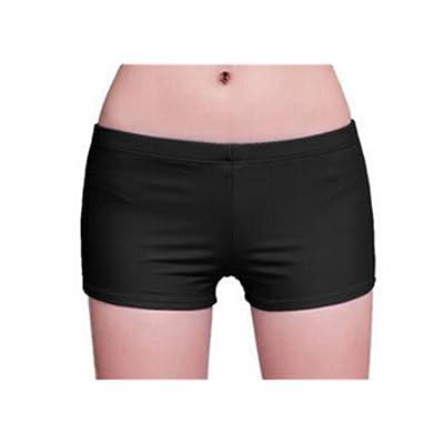 Hengsong Women Plain Sport Yoga Shorts Boxer Brief Knickers Bottoms Short Leggings