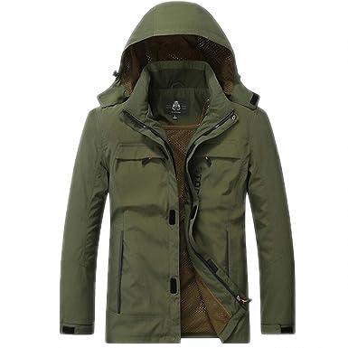 NEW Jacket Men Windbreaker Outwear Jackets Casual Loose ...