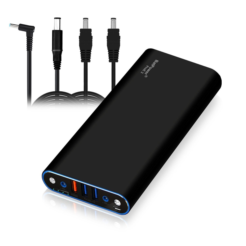 BatPower EX10H 148Wh Power Bank Cargador portátil Batería Externa para HP Pavilion Envy Spectre Split Slatebook Chromebook Streambook EliteBook ...