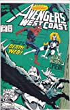 The West Coast Avengers, Vol. 2, No. 84, July 1992, Along Came a Spider