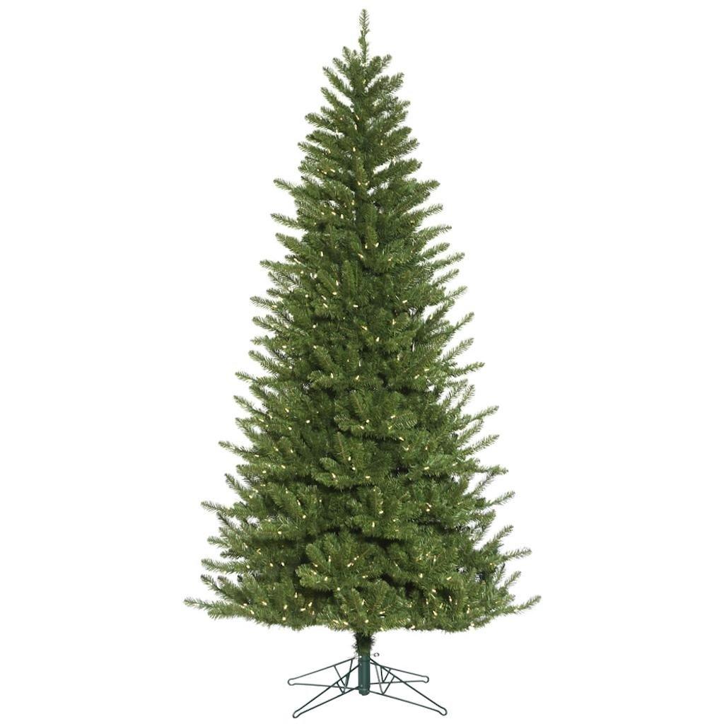 Vickerman 495278 - 10' x 61'' Nampa Pine 1050 Warm White LED Lights Christmas Tree (G171486LED)