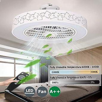 Ventiladores De Techos Con Iluminación Remoto Control Regulable ...