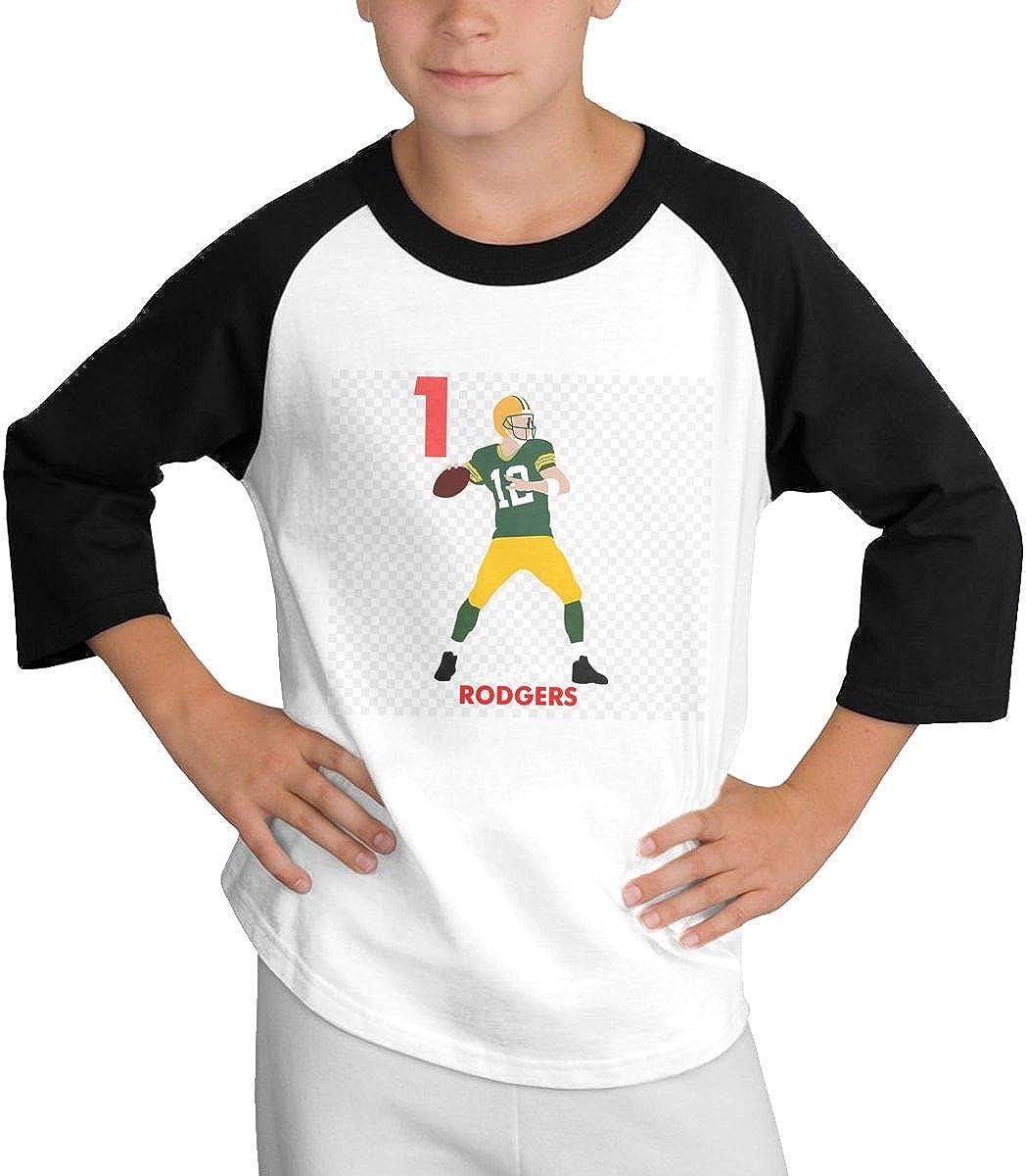 Teens Baseball Jersey Andrew-Luck-Cartoon-Clip-Art 3//4 Sleeve Raglan Baseball T-Shirt