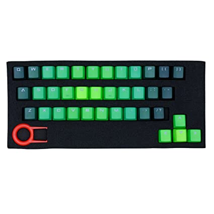 ATTAV 37 Keys PBT Keycaps Backlit Double Injection-Color Keycaps Set