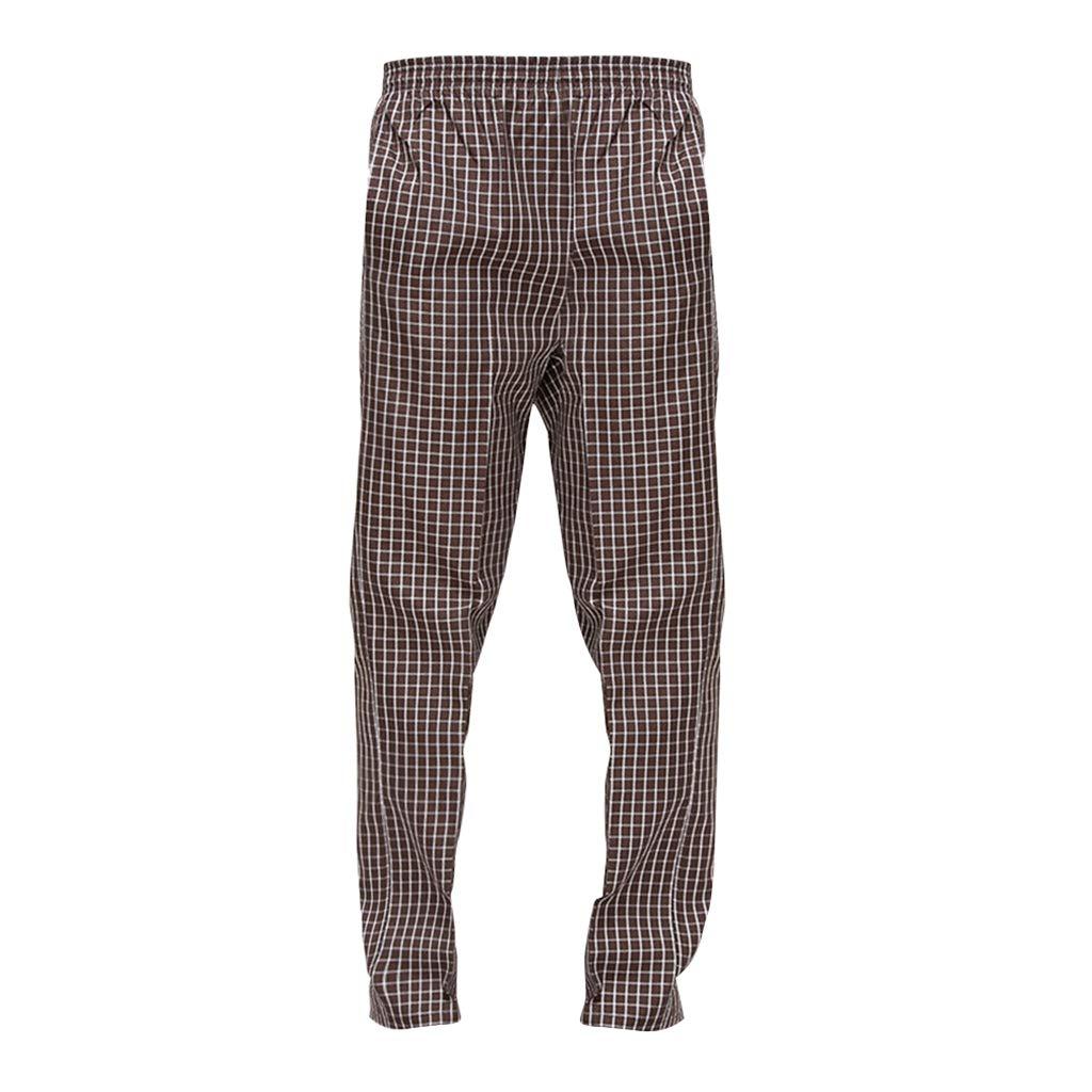 KESOTO Ropa Culinaria//Uniforme Pantalon Cocinero de Trabajo Unisex Adulto