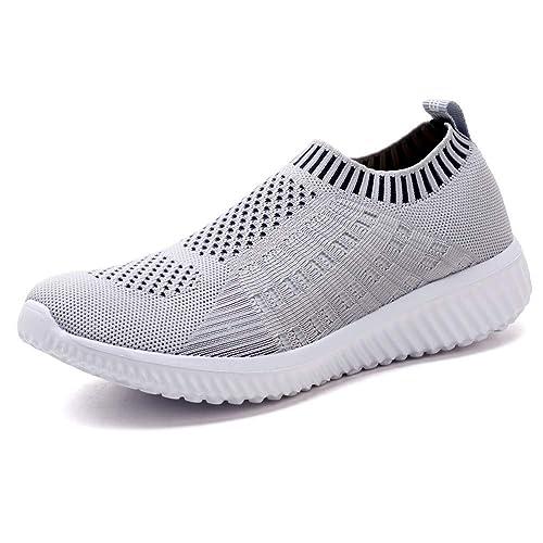 TIOSEBON Women's Athletic Walking Shoes Casual Mesh-Comfortable Work Sneakers Review