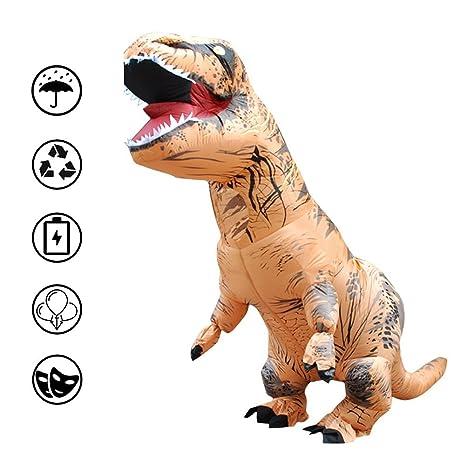 radarfn - Disfraz Hinchable de tiranosaurio para Disfraz de ...