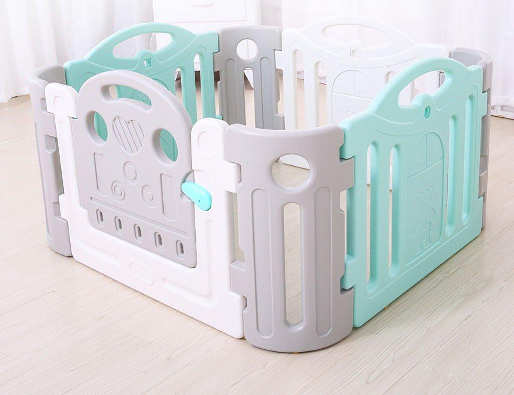 クロウリング幼児フェンス屋内玩具セキュリティフェンスキッズアクティビティセンター安全プレイヤードホーム屋内屋外新しいペン、多色 (サイズ さいず : 120*120cm) 120*120cm  B07F3B6MHC