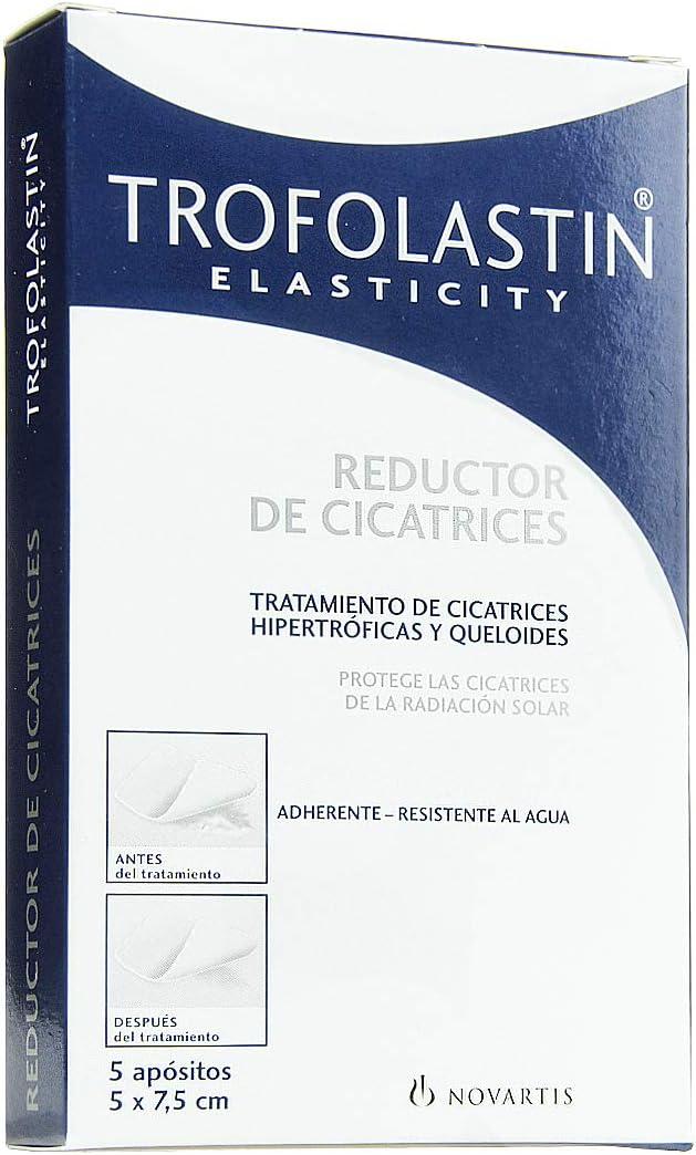 Trofolastín - Reductor de Cicatrices - 5 apósitos de 5 x 7,5 cm