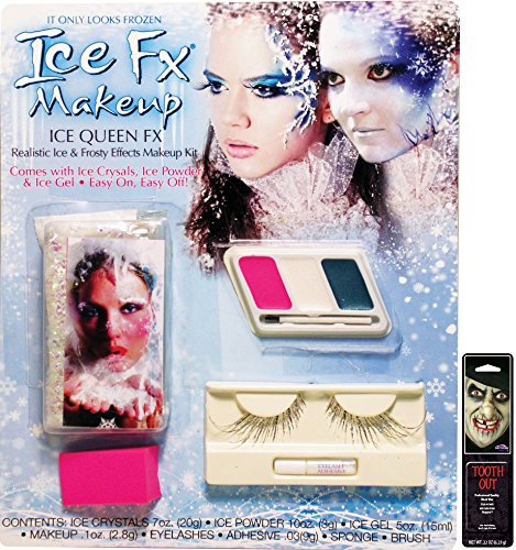 (Potomac Banks Ice Queen Makeup Kit with Free Pack of)
