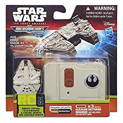 Star Wars The Force Awakens Micro Machines Millennium Falcon RC Vehicle