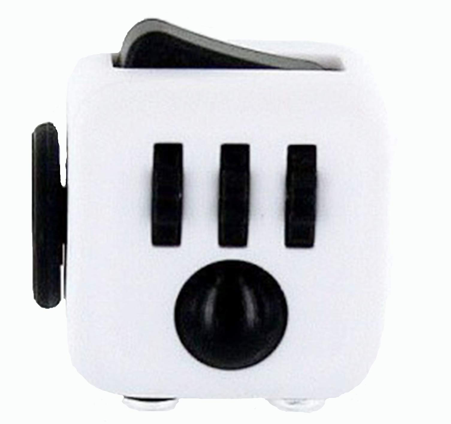 ZURU Fidget Cube by Antsy Labs White/Black - The Original and Still the Best Anti-Stress Toy, Fidget Toy Designed to Help you Focus by ZURU