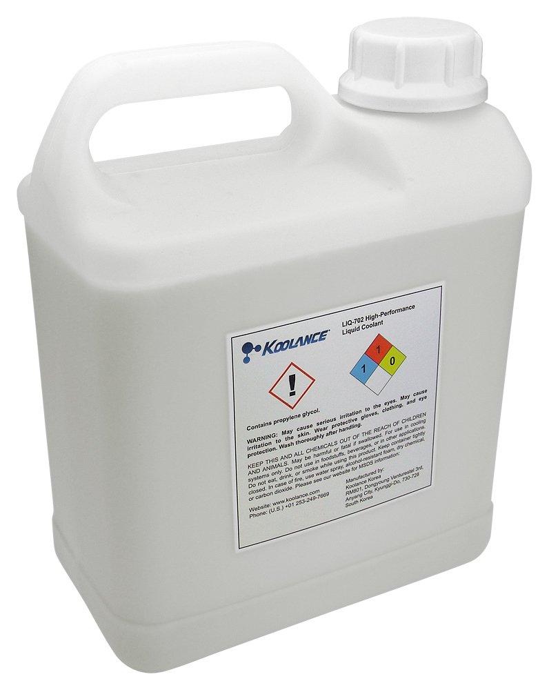 Koolance LIQ-705CL-05L 705 Liquid Coolant, Electrically Insulative, Colorless, 5000ml (169 fl oz) by Koolance