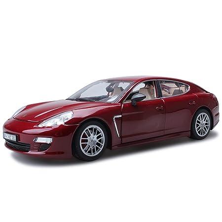 QRFDIAN Juguete para niños Modelo de Coche de aleación de simulación Original de fábrica Autorizado 1:18 Modelo de Coche Panamera Porsche (Color : Negro): ...