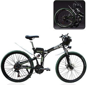 MIRC Bicicleta de montaña eléctrica, Bicicleta eléctrica Plegable ...