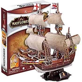 Amazon.com: CubicFun T4019h HMS Victory Puzzle, 189 Pieces ...