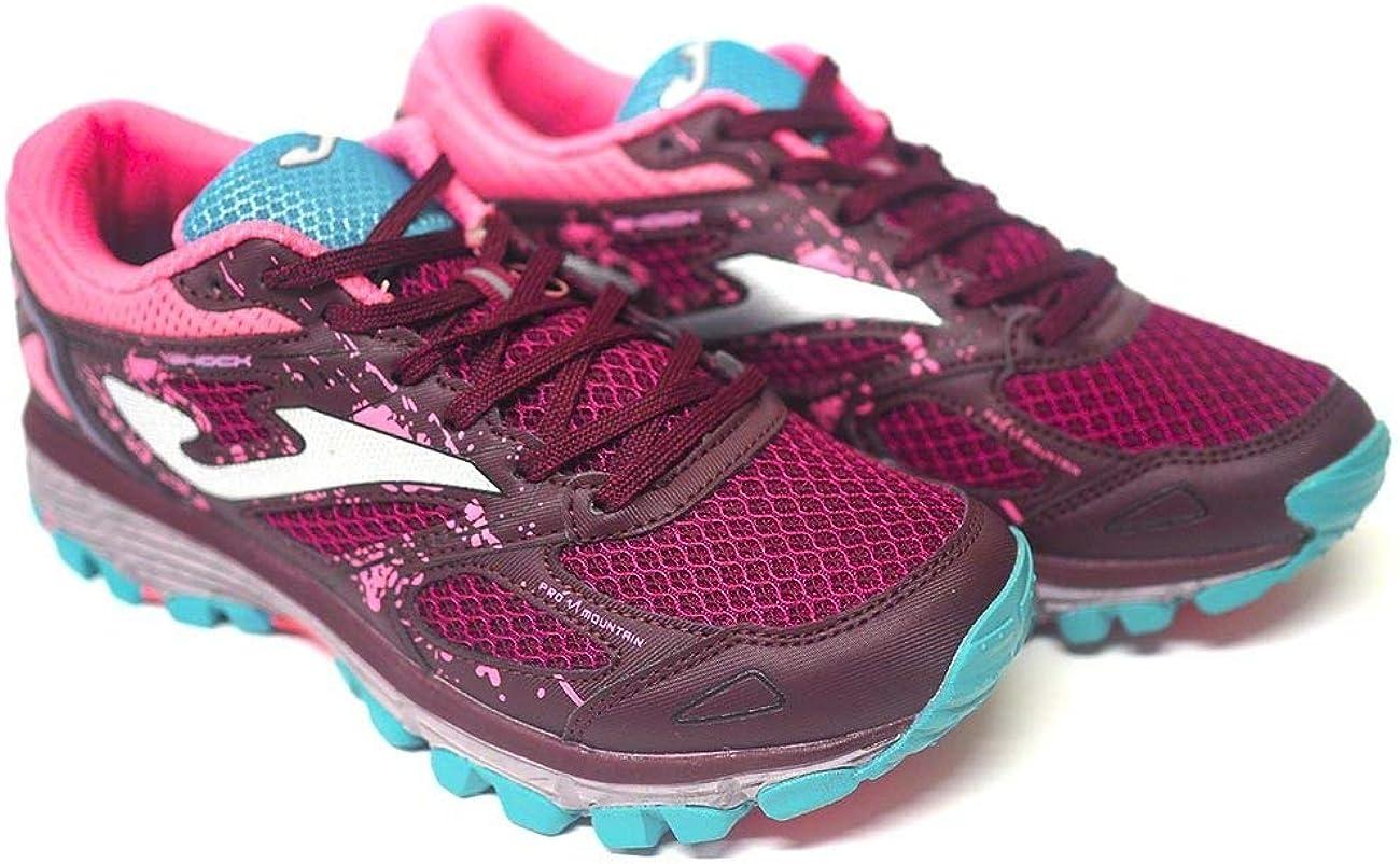 Zapatillas Deportivas para Mujer Joma Shock Lady 2020 Vino-Rosa