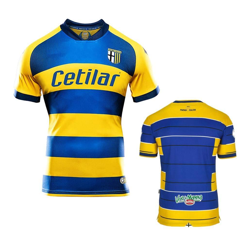 Go-Fall 2019 Soccer Jersey Mens T-Shirts Italy Parma Short Home Replica