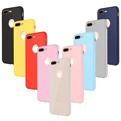 Amazon.com: iPhone 7 Plus Funda, Leathlux [paquete de 9 ...