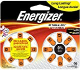 Energizer Batteries AZ13DP EZ Turn and Lock Hearing Aid, Size 13, 16 Count