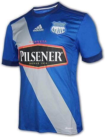 adidas Club Sport Emelec Home Jersey azul Equador Liga Camiseta de fútbol: Amazon.es: Deportes y aire libre