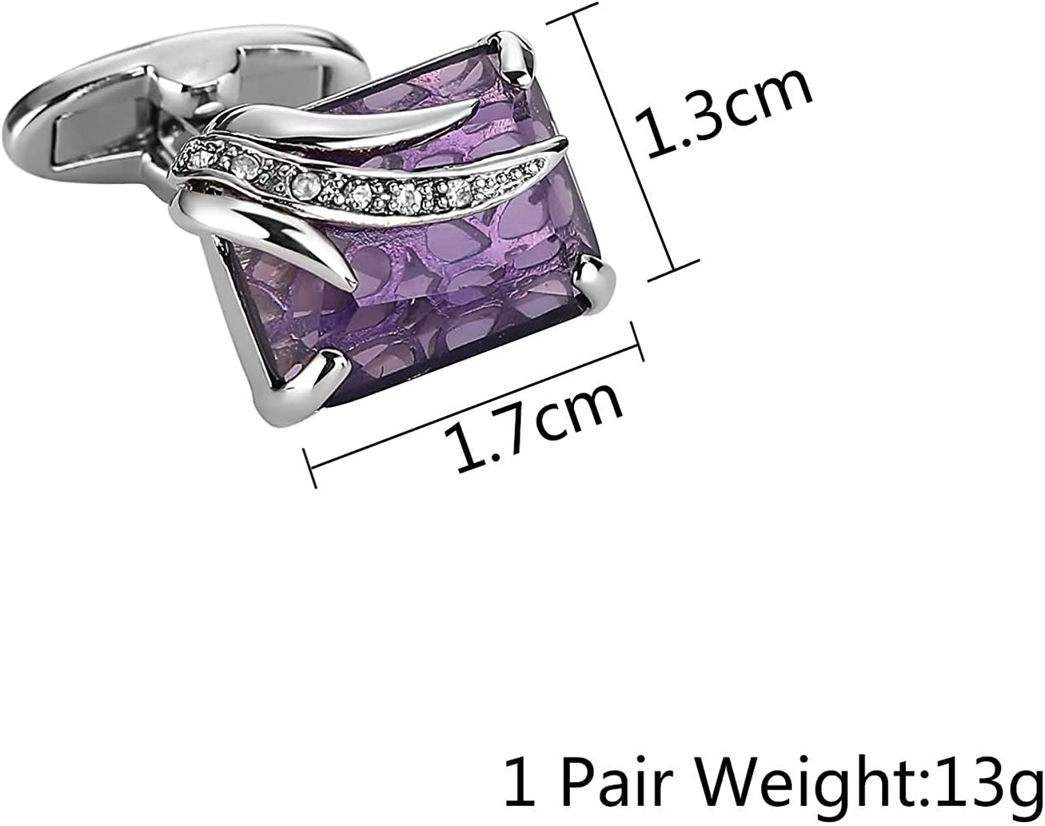 Aooaz Mens Stainless Steel Cufflinks 2Pcs Size X with Xmas Gift Box 4 Styles Novelty Shirt Cufflinks