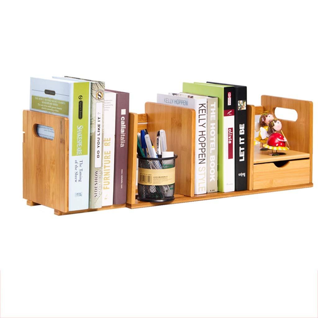 SJ-DDUAN Adjustable Bookshelf, Desk Shelf Office Desktop Storage Shelf Office and Home DIY Table Storage Shelf by SJ-DDUAN