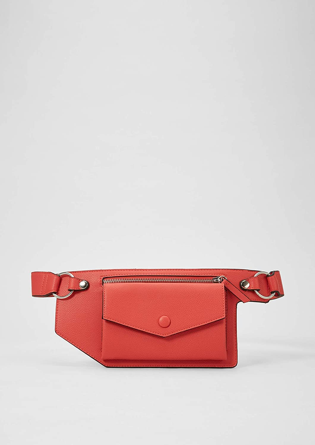 s.Oliver Damen 39.904.90.5171 Clutch, 2x14x31 cm Rot (Red)